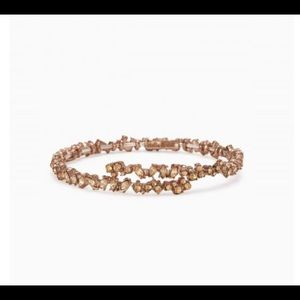 Jewelry - Stella and Dot Hera Coil Bracelet Rose Gold